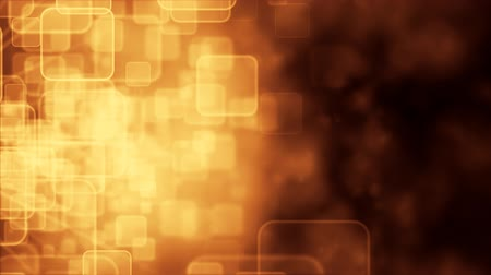 popisný : Motion background with animated squares, gold tint.