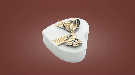 prim : Loopable spin of heart shaped gift box