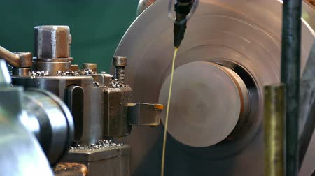 lasca : Machine and equipment of metal industry ; Processing of metal parts on the lathe machine
