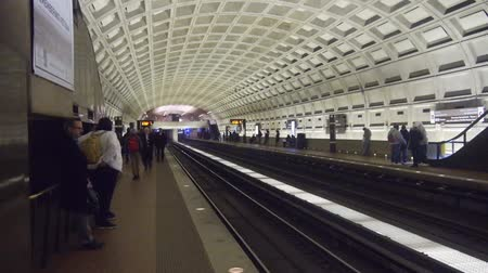 georgetown : Underground Subway Station With People - Static