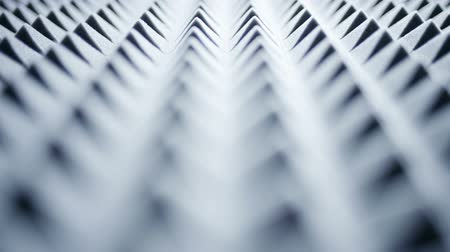 абсорбент : Macro of acoustic foam panel background, rack focus