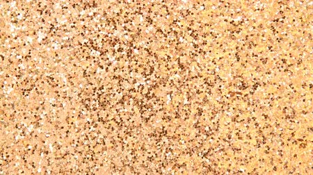 Gold texture glitter background Stok Video