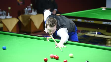 six worlds : Bangkok, Thailand - SEP 3:Shaun Murphy of England participates in a Sangsom Six-red World Championship 2014 at Montien Riverside Hotel on September 3, 2014 in Bangkok, Thailand.