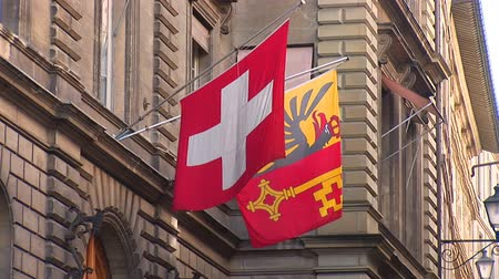 suíça : Swiss flags