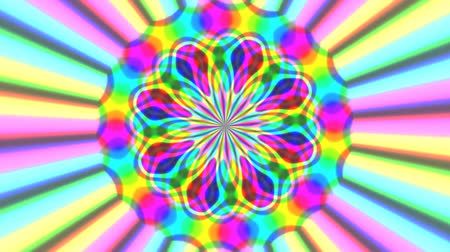 rasgele : Rainbow waves generated seamless loop video