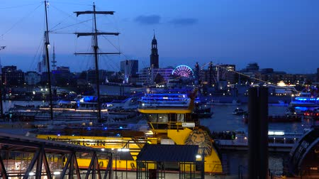 hamburg : Hamburg, Germany - May 12, 2018: 829th Hamburg Port anniversary is always packed with fun activities and events. 4K.