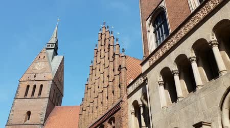Old market church in Hannover. Lower Saxony, Germany 影像素材