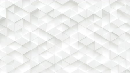 extrude : Abstract low poly surface motion background. Moving polygonal plane Stock Footage