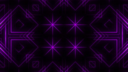 törzsi : Abstract tribal looping animated background. Seamless symmetric kaleidoscope backdrop from hypnotic rays. VJ style Flowing ornament footage.