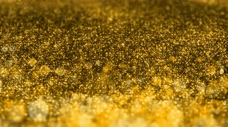 jiskří : Shiny golden glitter background Christmas abstract seamless VJ loop motion particles