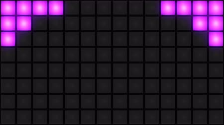 Пол : Pink Disco nightclub dance floor LED dancing wall glowing light grid dancefloor musical background vj seamless loop club animation