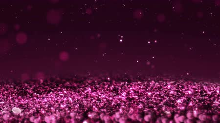 esplendor : Pink Shiny glitter background abstract texture close up macro seamless loop particles