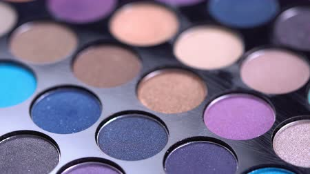 sombras : Rotating professional makeup eyeshadows palette