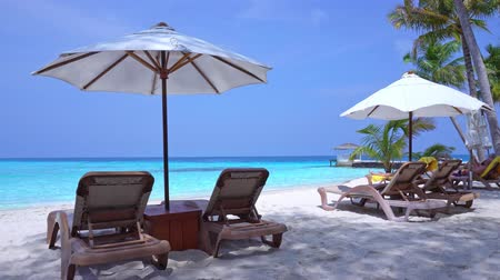 Perfect summer vacation on Maldive island