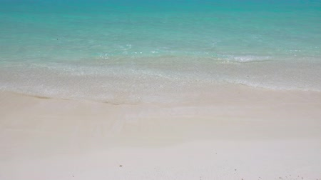 sandpit : Tropical sandy beach with calm waves. Travel destinations