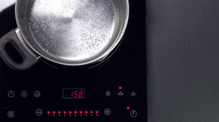 cooktop : Choose function on Induction stove