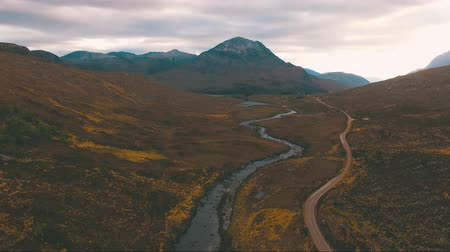 skalnatý : Flying over the mountain stream in Scotland