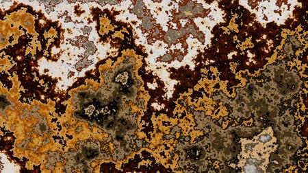 oxidation : Moving irregular abstract waves. Abstract screensaver for video.