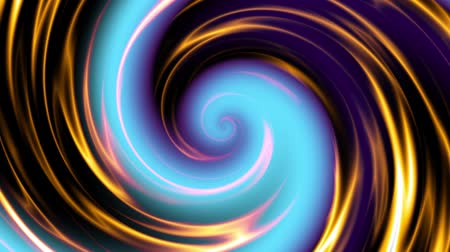 fraktal : Endless spinning futuristic Spiral. Seamless looping footage. Abstract helix.
