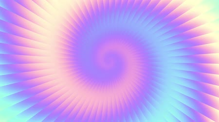 huni : Endless spinning Revolving Spiral with rays Seamless looping footage. Abstract helix. Stok Video