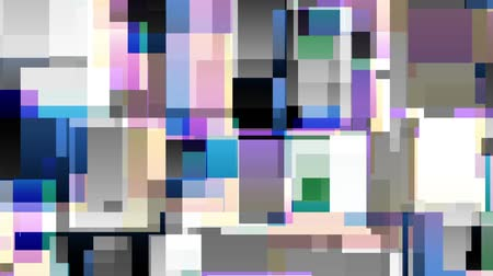 graphic arts : Transforming abstract shapes. Abstract geometric background. Seamless looping footage. Stock Footage