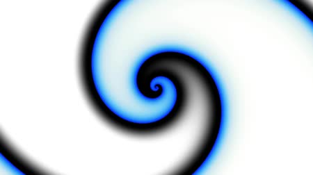 mágico : Endless spinning futuristic Spiral. Seamless looping footage. Abstract helix.
