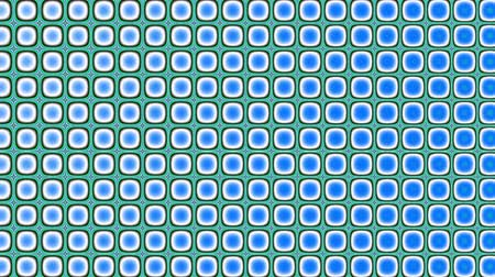 cubismo : Transforming abstract polka dot pattern. Abstract geometric background. Seamless looping footage. Filmati Stock