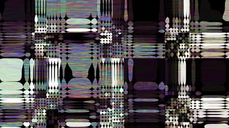 Abstract fast flickering texture with noise artifacts codec. Looping video interference footage. Imitation of a Datamoshing video.