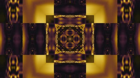 kmenový : Symmetric abstract wavy ornament. Animated ethnic tribal pattern. Looping footage. Dostupné videozáznamy