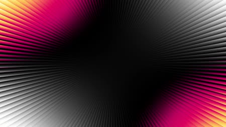 ポリゴン : Seamless loop abstract motion background. Simply moving gradient with rays. Looping footage.