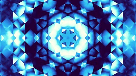 trasformazione : Moving geometric shapes. Transforming futuristic technology mandala. Looping footage.