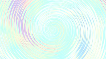 holographic : Endless spinning Revolving Spiral. Seamless looping footage. Abstract helix.