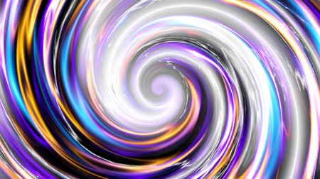 huni : Endless spinning Revolving Spiral. Seamless looping footage. Abstract helix with plasma effect.