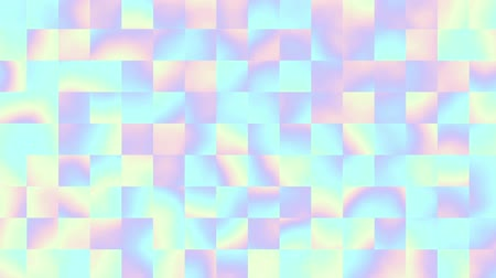 clipart : Abstract moving texture. Small squares. Light background. Looping footage.