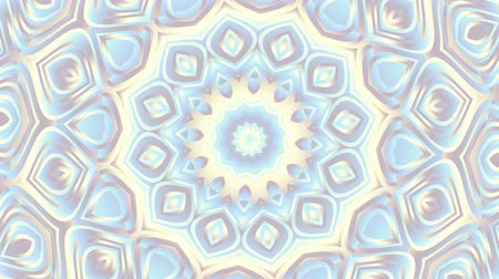 mesh : Spinning abstract magic circle. Esoteric cosmic mandala. Simply ornamental mandala. Loop footage.