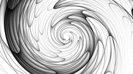 whirlpool : Endless spinning futuristic Spiral. Seamless looping footage. Abstract helix.