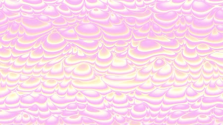 nepravidelný : Moving random wavy texture. Psychedelic animated background. Transform abstract holographic surface. Looping footage.