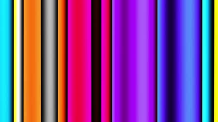refletir : Abstract animated striped background..Vertical strips. Looping footage. Vídeos