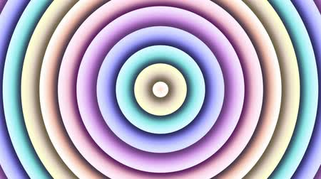 멀티 컬러 : Multi color changing circle. Abstract animated background. Looping footage.