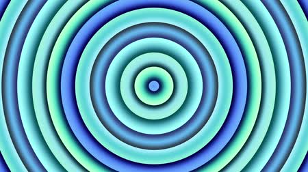 аура : Multi color changing circle. Abstract animated background. Looping footage.