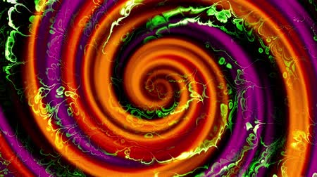 fundo abstrato : Endless spinning futuristic Spiral. Seamless looping footage. Abstract helix.