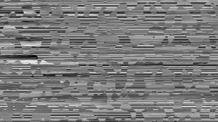 seamless loop : Abstract dark background with grunge artifacts codec. Imitation of a Datamoshing video.