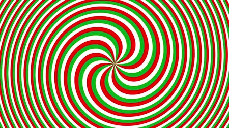 imbuto : Endless spinning futuristic Spiral. Simple colors spiral. Seamless looping footage. Abstract helix. Filmati Stock