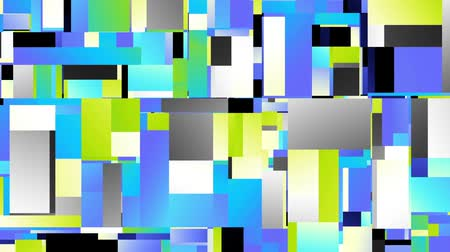 futurismo : Transforming abstract futuristic geometric shapes background. Animated looping footage.