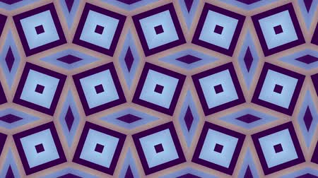 pravidelný : Transforming geometric shapes. Plaid tile background. Looping footage.