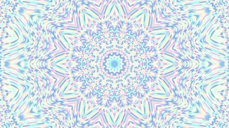 digital art : Spinning abstract magic circle. Esoteric cosmic mandala. Loop footage.