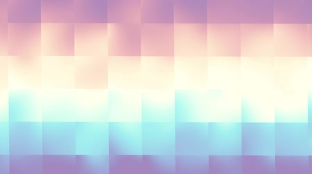 ポリゴン : Seamless loop abstract motion background. Simply moving blurred defocused low poly background.