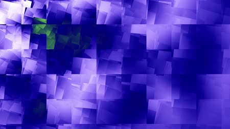 плед : Moving geometric shapes. Blue defocused squares. Seamless looping footage. Стоковые видеозаписи