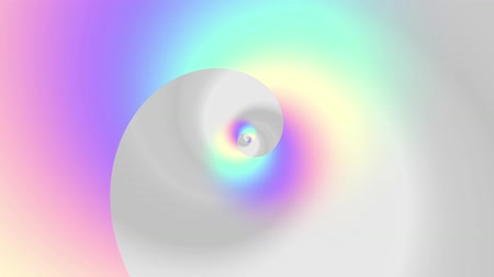 esoterico : Endless spinning futuristic Spiral. Seamless looping footage. Abstract helix.
