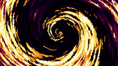 kavisli : Endless spinning Revolving Spiral. Seamless looping footage. Abstract helix.